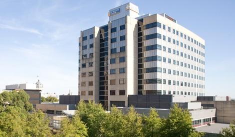 st vincent's hospital melbourne aerial