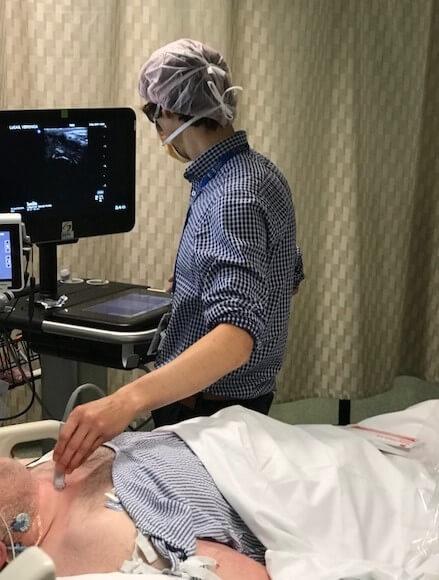ultrasound svhm icu