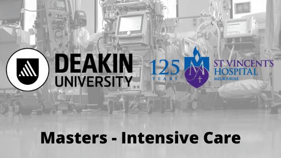 masters intensive care svhm